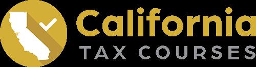California Tax Courses
